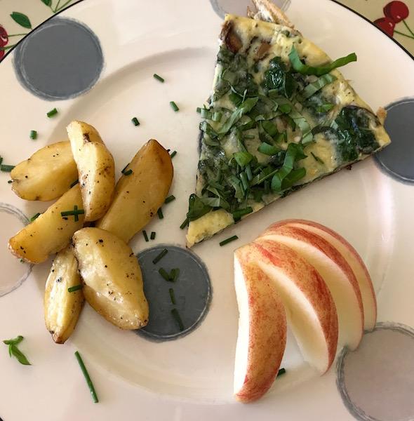 #microfarm frittata breakfast